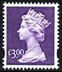 £3 dull violet