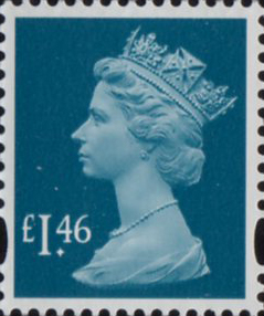 £1-46p dark turquoise