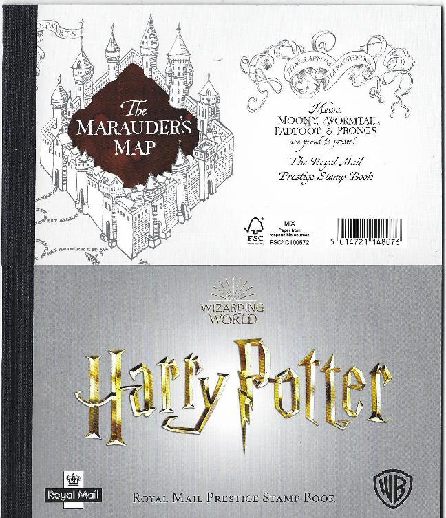 2018 GB - DY27 - Wizarding World - Harry Potter Prestige Book
