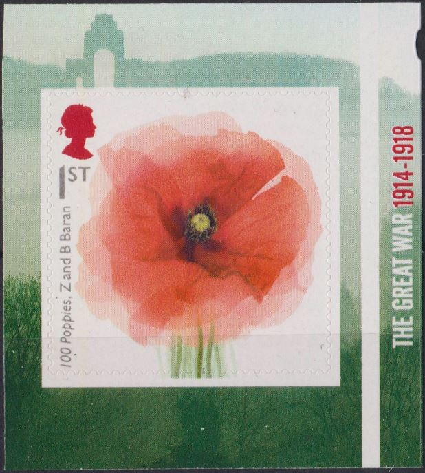 "2018 GB - SG4140 - Great War ""100 Poppies"" from PM63 MNH"